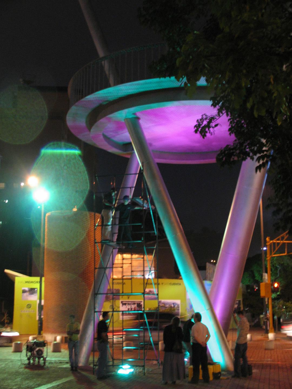 Color Kinetics Plaza Alfredo Sadel