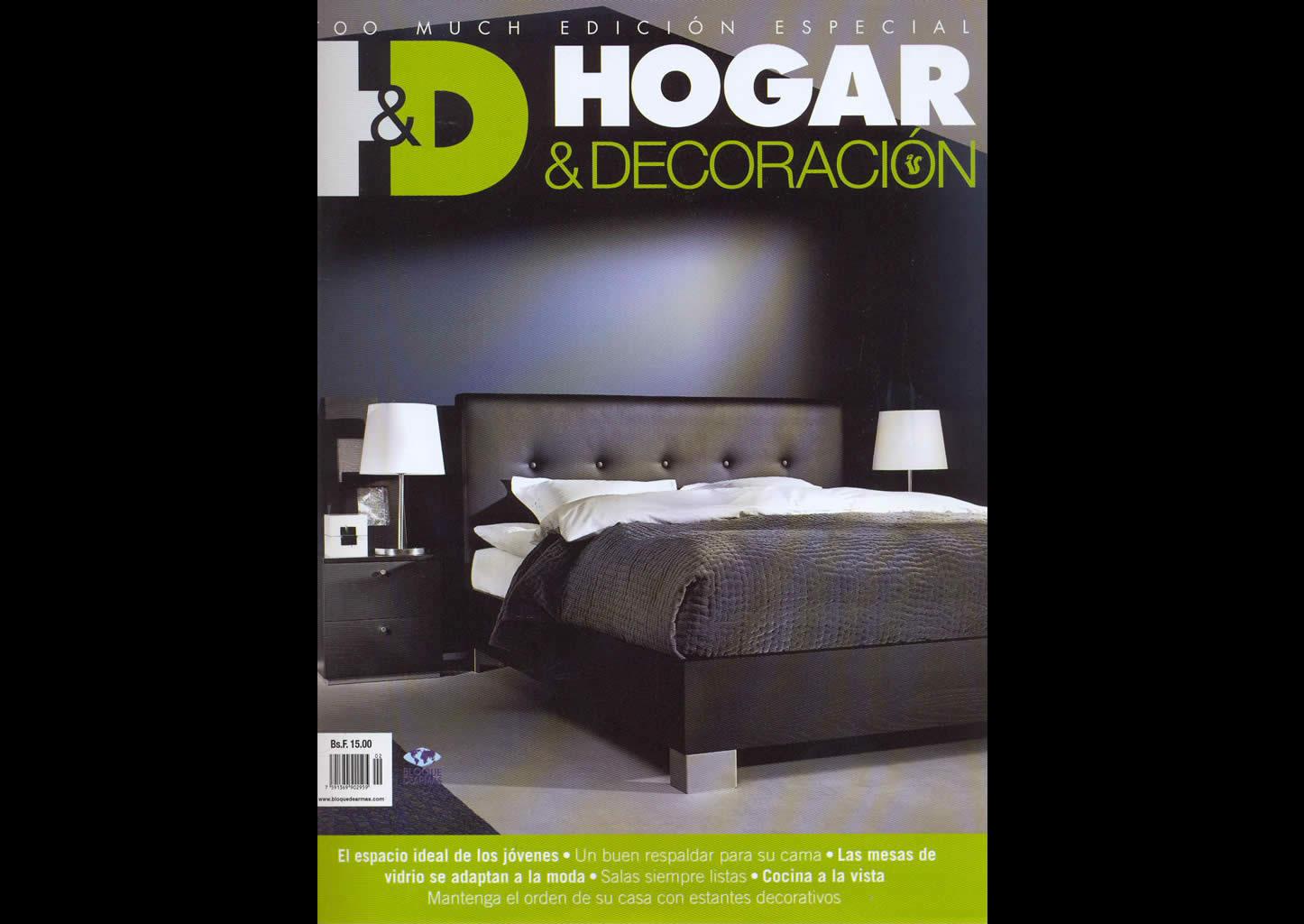 Revista Hogar y Decoración