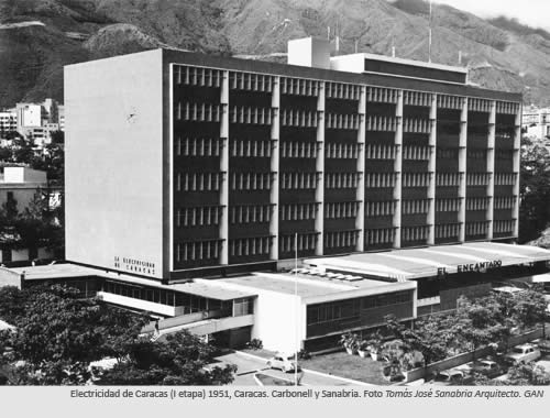 Arquitectos venezolanos / Tomas Jose Sanabria