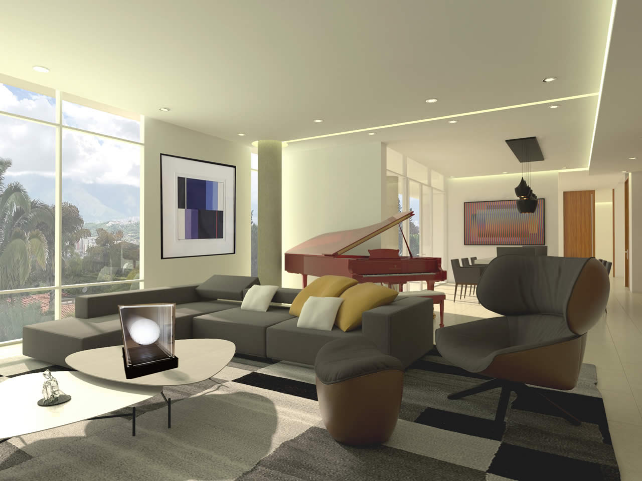 Casa 18-20 Interiores
